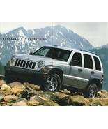 2006 Jeep LIBERTY SPORT SPECIAL Edition sales brochure folder US 06 - $6.00