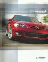 2007 Mazda 6 MAZDA6 brochure catalog 07 US s i - $6.00
