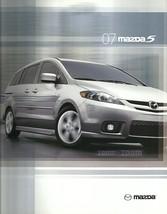 2007 Mazda 5 MAZDA5 sales brochure catalog 07 US - $8.00