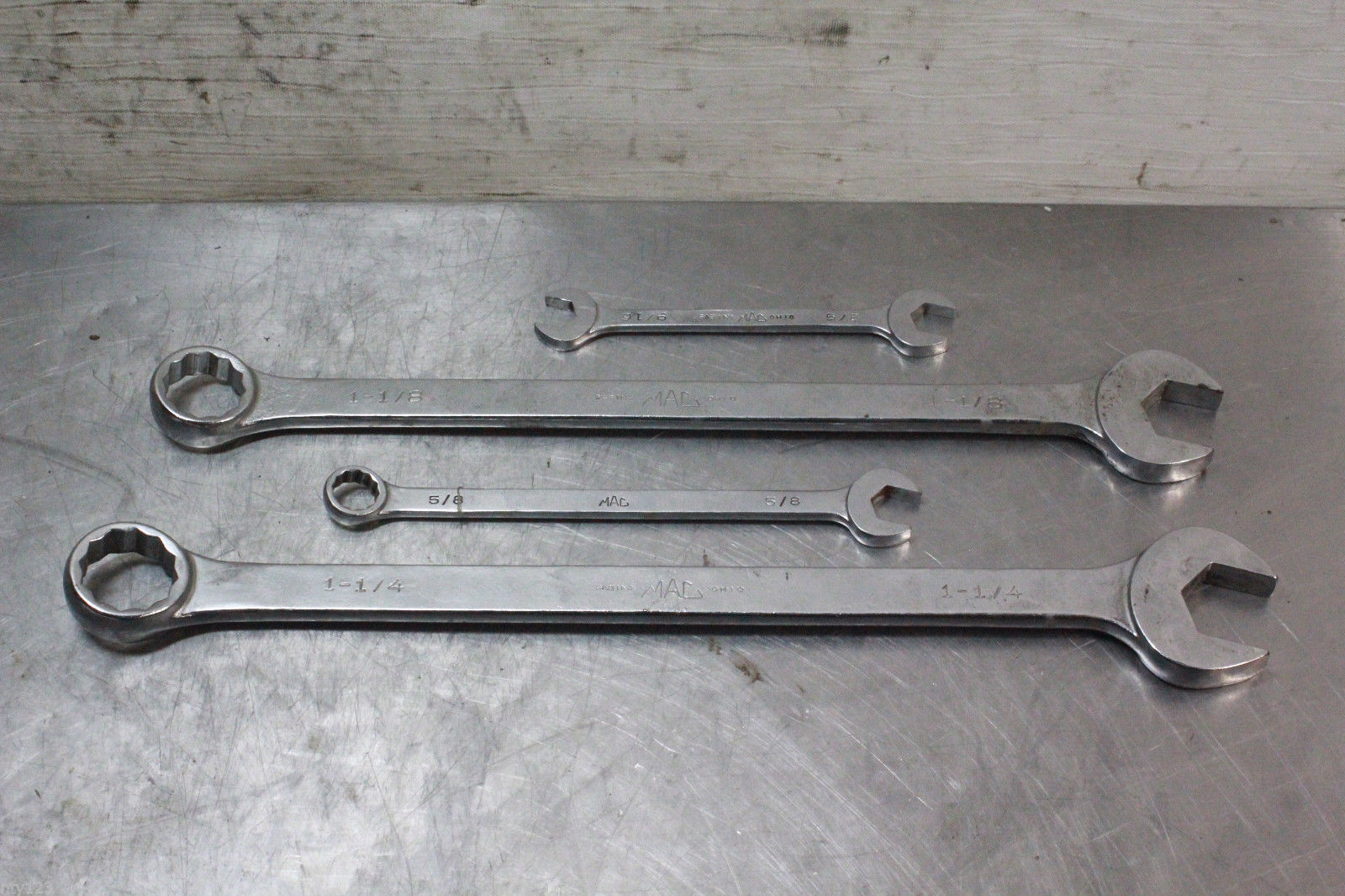 4-PIECE MAC WRENCH SET