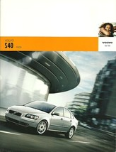 2006 Volvo S40 sales brochure catalog 06 US 2.4i T5 - $8.00