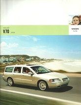 2006 Volvo V70 wagon sales brochure catalog 06 US 2.4 2.5T - $8.00