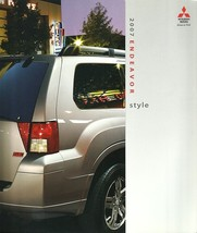 2007 Mitsubishi ENDEAVOR sales brochure catalog 07 US LS SE - $8.00