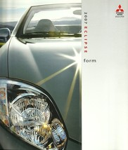 2007 Mitsubishi ECLIPSE sales brochure catalog US 07 GS GT - $8.00