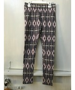 American Eagle Outfitters Leggings southwest print gray purple high rise... - $18.95