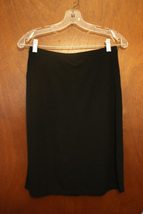 Express Solid Black Skirt Size Small - $8.99