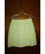 Apostrophe Light Green Ladies Mini Skirt - Size 10 - $9.99