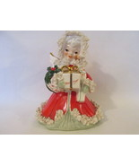 Vintage Napco Christmas Angel Figurine with Spa... - $20.00