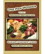 "Jim Ruch ""One Pan Wonder"" Shrimp Chicken Lamb V... - $23.88"