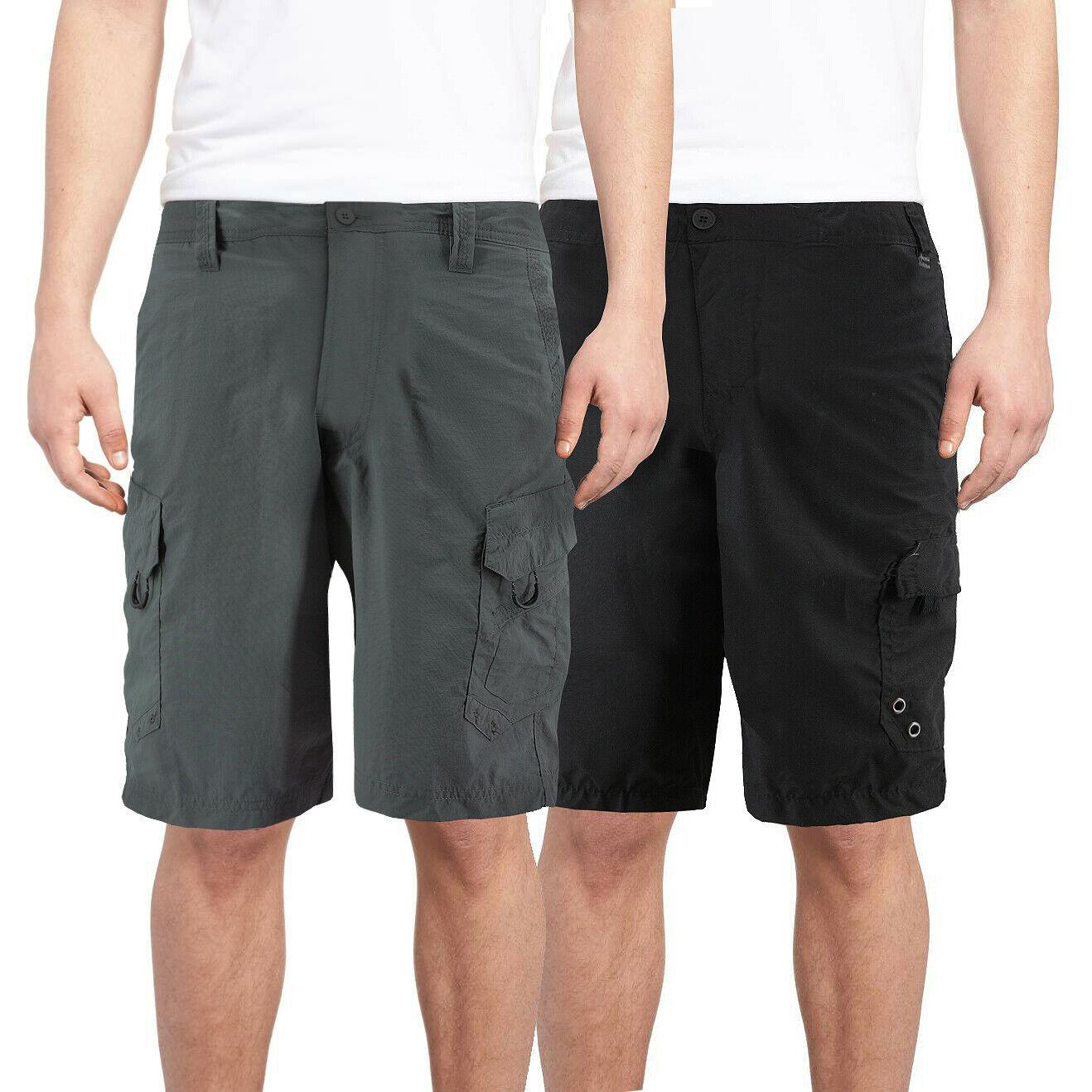 Men's Slim Fit Quick Dry Trunks Summer Surf Beach Cargo Swim Board Shorts