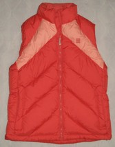 NWOT Lands End Snowroller Cancun Coral Goose Down Puffer Vest Size XS 2-4 - $40.00