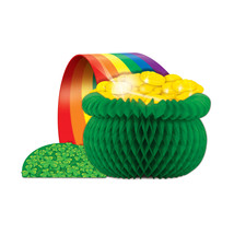 "Beistle Pot-O-Gold Centerpiece 12 1/2""- Pack of 12 - €38,96 EUR"