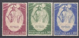 1969 Resurrection Set of 3 Vatican Postage Stamps Catalog Number 467-69 MNH
