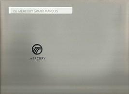 2006 Mercury GRAND MARQUIS sales brochure catalog portfolio US 06  - $8.00