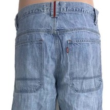Vtg Levi's Red San Francisco Men's Jeans Light Wash Denim Loose Straight... - $30.81