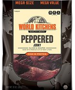 World Kitchens Jerky, Peppered, 10 Ounce - $23.75