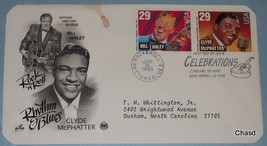 First Day Cover- Bill Haley & Clyde McPhatter 29 cent - $7.00