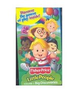 Fisher-Price Little People Big Discoveries - Volume 1 [VHS Tape] (2002) ... - $3.99