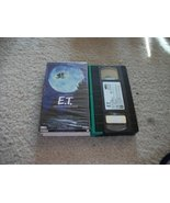 E.T. The Extra-Terrestrial VHS 04789777012 - $3.95