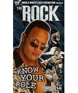WWF: The Rock - Know Your Role [VHS] [VHS Tape] (1999) The Rock; Steve A... - $8.99