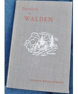 RARE VINTAGE SIGNED 1947 - Discovery at Walden / Thoreau - Roland Wells ... - $75.00