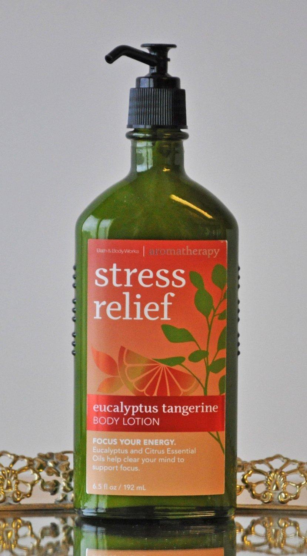 Bath & Body Works Stress Relief Eucalyptus Tangerine Body Lotion 6.5 oz / 192 ml