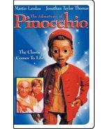 The Adventures of Pinocchio (1996) [VHS] [VHS Tape] (1996) Martin Landau... - $2.99