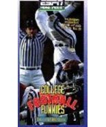 College Football Funnies [VHS] [VHS Tape] (1997) Espn - $2.98