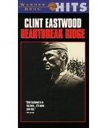 Heartbreak Ridge [VHS] [VHS Tape] (1992) Clint Eastwood; Ramn Franco; Bo... - $3.99