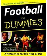Football For Dummies by Long, Howie; Czarnecki, John - $3.99
