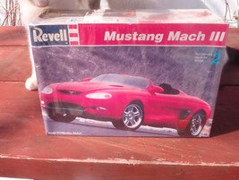 Mustang Mach III 1:25 Model Kit by Revell Still Sealed! - $19.95
