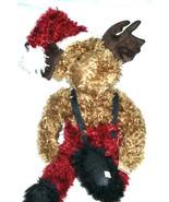 "Boyds Bear  ""Father Chrismoose""  #93822V  - 20"" Plush Moose- QVC EXCLUSI... - $79.99"