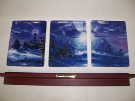 Christian Riese Lassen Escape to Paradise Plates with Wall Mount - $39.90