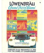 LOWENBRAU Grand Prix of Miami Feb 22-23 - March 1-2,1986 by Bruce Czaja ... - $73.79