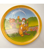 "Set of 5 Vintage 1977 Melamine Ronald McDonald Plates -  10"" diameter #5887 - $14.99"