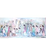 "Ted DeGrazia ""Navajo Fair"" Full Color Large Framed & Matted Art Print - $389.00"