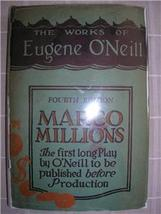 1928 EUGENE O'NEILL Marco Millions DJ early print - $50.00