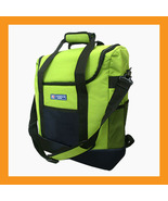 green cooler backpack bag lunch Insulated portable beer wine 35L picnic ... - $42.00