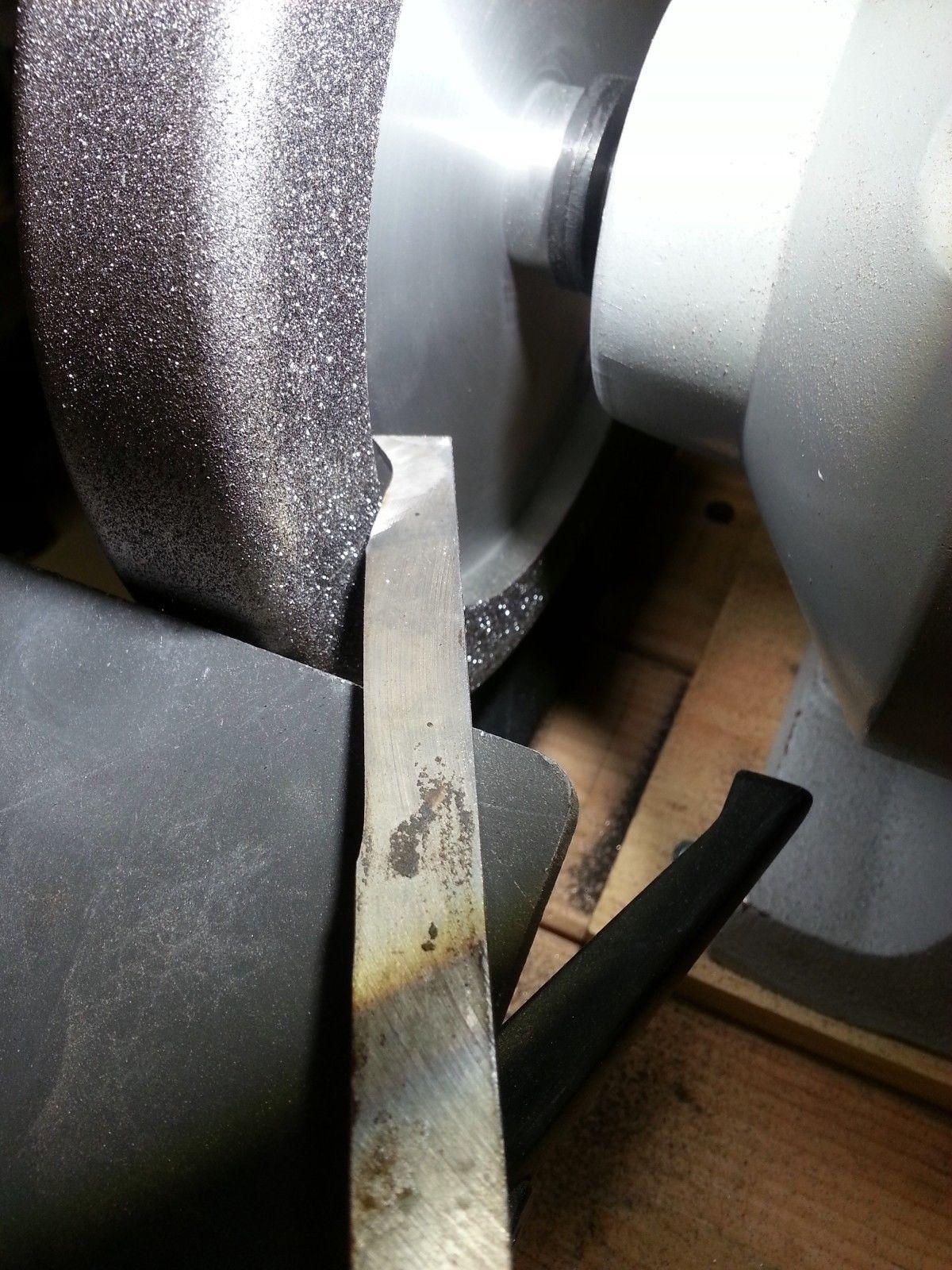 """5//8/"""" arbor BEST PRICE anywhere CBN 8/"""" Aluminum Wheel 180 grit"""