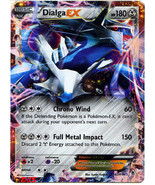 Dialga EX 62/119 Ultra Rare Phantom Forces Pokemon Card - $4.98