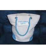 Dolce & Gabanna Light Blue Tote Bag Shopper Gym Travel Beach  Bag - $19.97