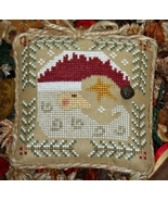 Winter's Night santa christmas cross stitch chart Grandma Kringle's Needleworks - $6.00
