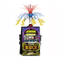 "Beistle Slot Machine Centerpiece 15""- Pack of 12 - $48.77"