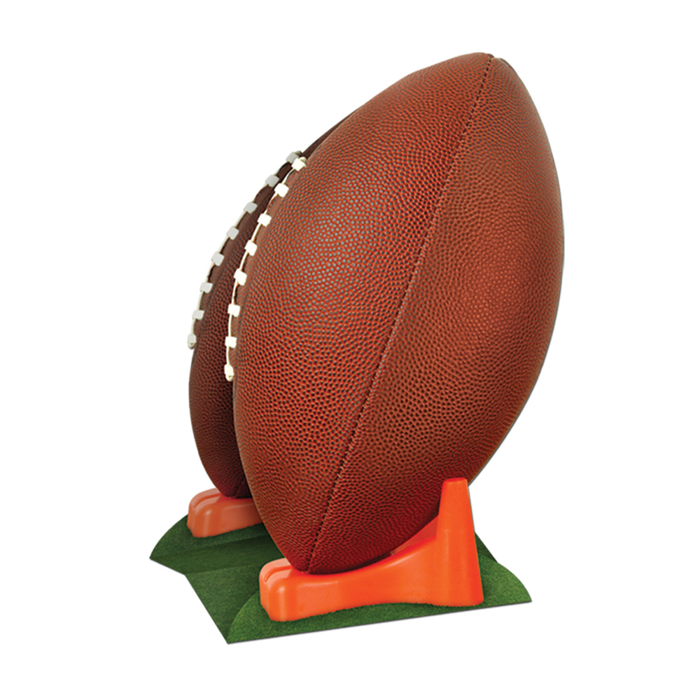 "Beistle 3-D Football Centerpiece 11""- Pack of 12"