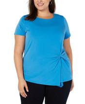 INC International Concepts Women's Plus Size Twisted Asymmetrical Pullov... - $27.18+