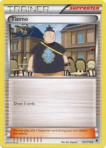 Tierno 107/119 Uncommon Trainer Phantom Forces Pokemon Card image 3