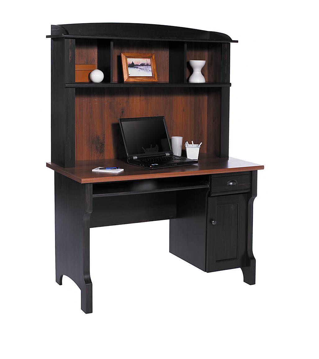 Realspace Shore Mini Solutions Computer Desk W Hutch