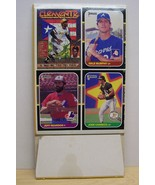 1987 Donruss baseball card box complete empty Canseco,Murphy,Clemente - $8.95