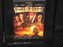 PIRATES OF THE CARIBBEAN DVD DISNEY 2003 2 DISC SET - $8.98