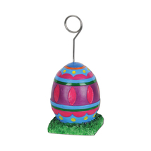 Beistle Easter Egg Photo/Balloon Holder 6 Oz- Pack of 6 - £27.64 GBP